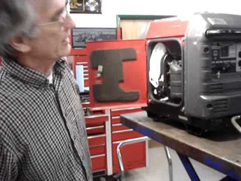 Honda EU3000iS Generator Auto Choke Demo Video by Pinellas Power Products