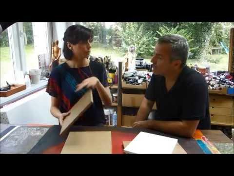 cours peinture acrylique 7 tutoriel pour pr parer son support peinture acrylique youtube. Black Bedroom Furniture Sets. Home Design Ideas
