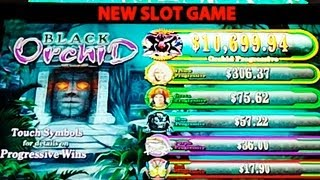 Black Orchid **FIRST LOOK** - Slot Machine Bonus