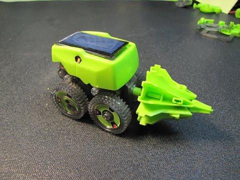 Solar Powered Dragon Robots of Death