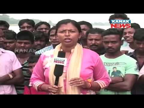 Flood In Subarnarekha River, Balasore People In Terror