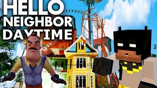 Minecraft Hello neighbor. Alpha 3 house in the DAYTIME!