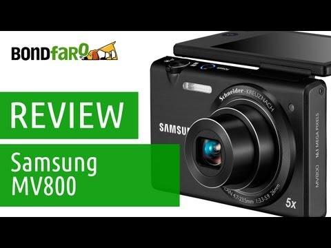 Câmera digital Samsung MV800 - Review