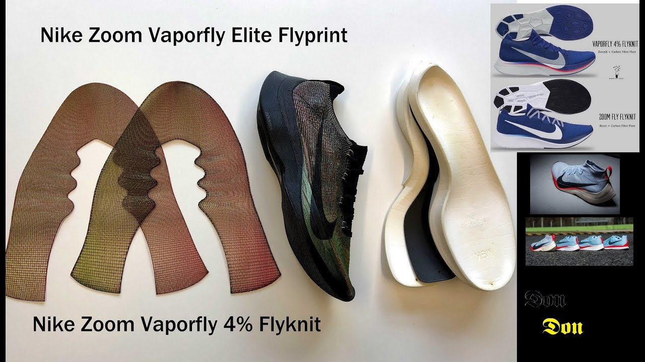 Discussing the Nike Zoom Vaporfly 4% Flyknit \u0026 Elite Flyprint
