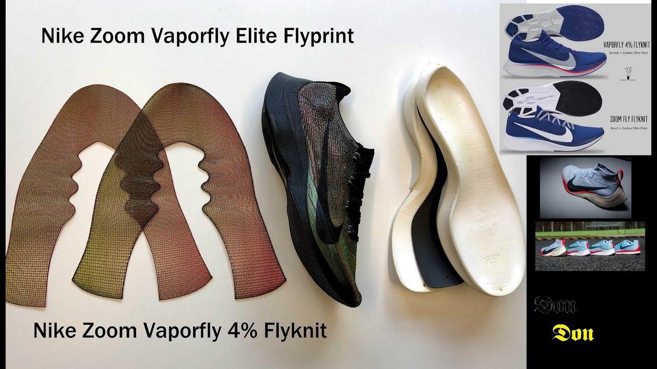 c9406fe7e5b6 Discussing the Nike Zoom Vaporfly 4% Flyknit   Elite Flyprint - YouTube