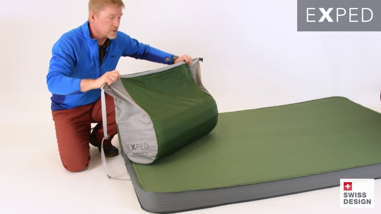 exped mega pillow features and