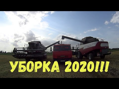 СТАРТОВАЛА УБОРКА ОЗИМОГО ЯЧМЕНЯ 2020!!!АКРОС 580 ВЕКТОР 410!!!