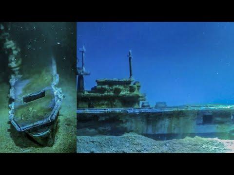 ShipWreck Underwater diorama USS Yorktown-Epoxy Resin Art