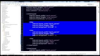 Android Programming Tutorial - LinearLayout