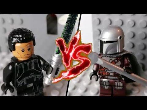 LEGO Mandalorian (Din Dijarin) vs. Moff Gideon I Chapter 16-The Rescue