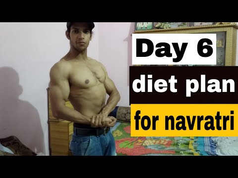 Day 6 vegetarian diet plan for navratri in Hindi