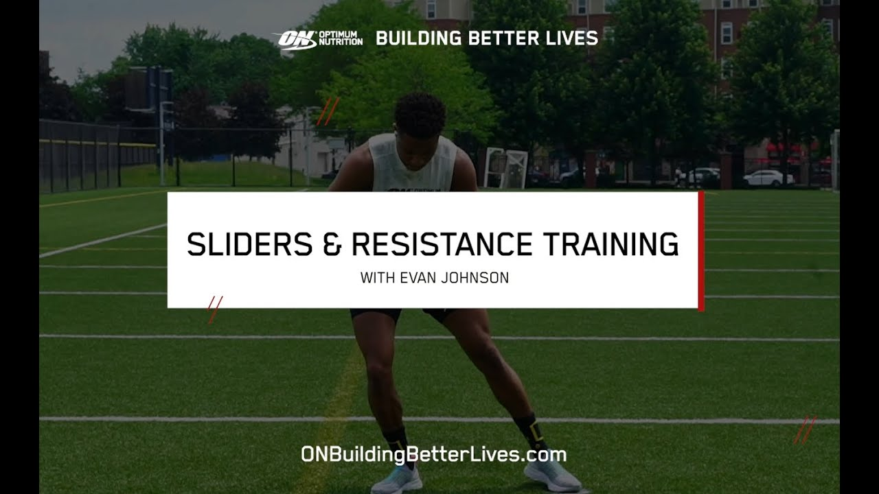 At-Home Sliders Workout with Evan Johnson