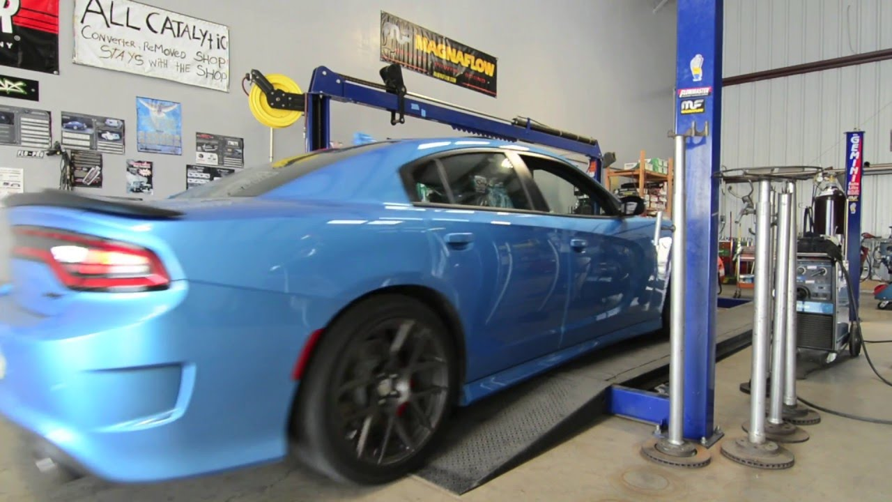 2016 Charger Scatpack Muffler Delete