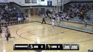 Game Replay: KSHSAA Boys Basketball Sub-State Round 1 —SME vs. SMW