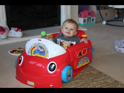 Fisher Price Crawl Around Car Unboxing And Playtime Review