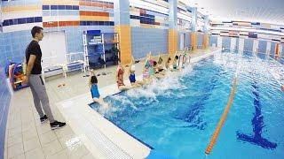 Занятие по плаванию в школа №509 (Мордовцев М.Г.) детей, красносельский район обучение плаванию