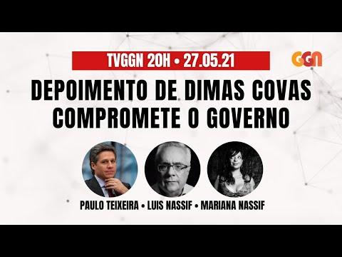 Depoimento de Dimas Covas compromete irreversivelmente o governo