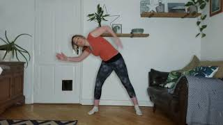 Video 36 Express Pilates with some lovely stretches.
