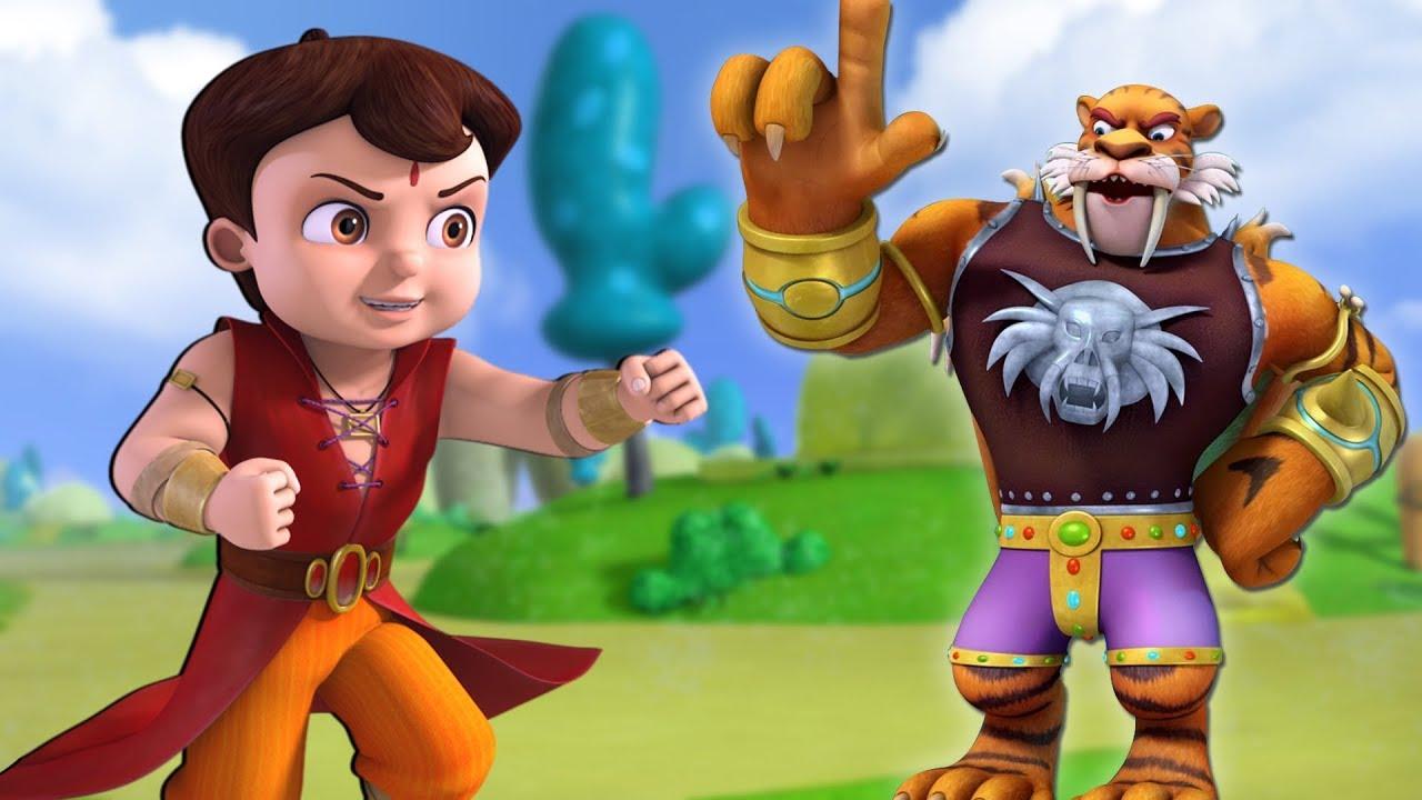 Super Bheem vs Super Lion | Hindi Cartoon for Kids