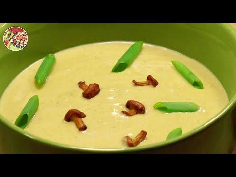 Крем - суп из лисичек. Просто, вкусно, недорого.