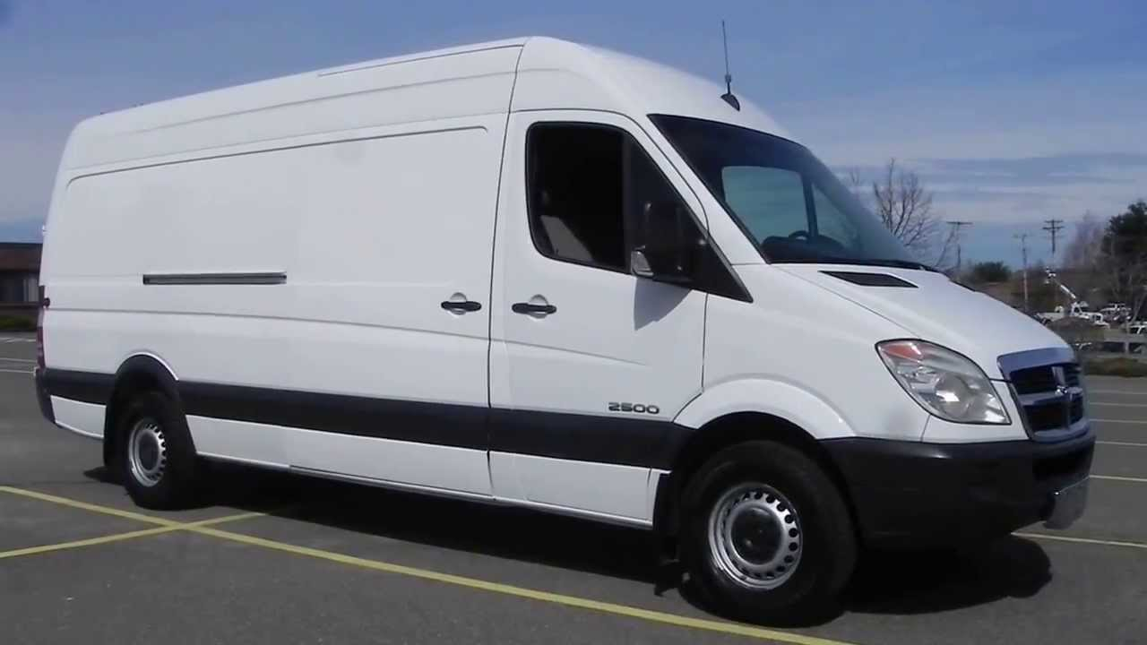2008 dodge sprinter 2500 cargo van high ceiling 3 0l. Black Bedroom Furniture Sets. Home Design Ideas
