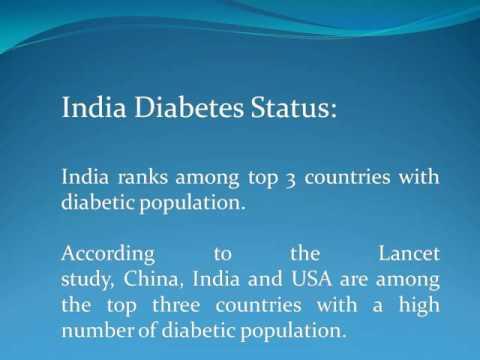 India Diabetes Status & Diabetic Population Forecast
