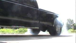 2008 f-350 dually burnout