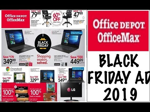Office Max/Office Depot Black Friday AD 2019–FREEBIES + HOT DEALS!