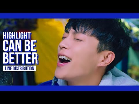 Highlight - Can Be Better Line Distribution (Color Coded) | 하이라이트 - 어쩔 수 없지 뭐