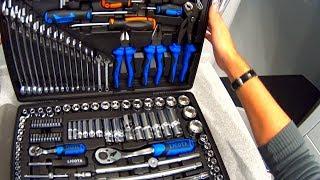 ???? Обзор нового licota alk-8009f большой набор инструментов 143 предмета | инструменты из китая