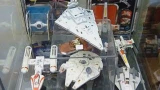Original Star Wars Die-Cast Metal Ships