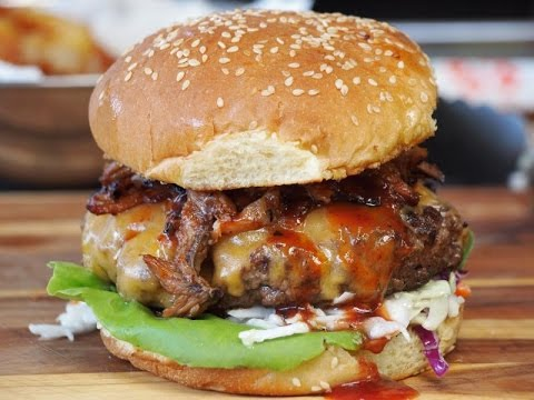 Texas Backyard BBQ Burger Recipe!