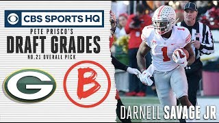The Packers traded up to get Darnell Savage Jr.  | NFL Draft 2019 | CBS Sports HQ