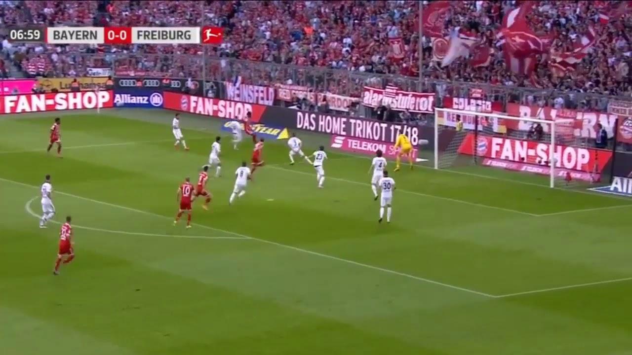 Download Bayern de Munique 5 × 0 Freiburg - Gols do jogo - Campeonato Alemão (14/10/2017) HD