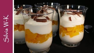 Blitz-Dessert / Pfirsich-Dessert / Dessert