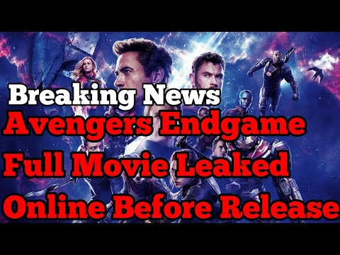 Avengers Endgame Full Hd Movie Leaked Online