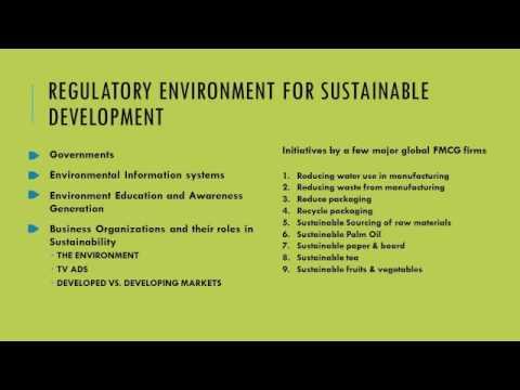(XIMB)Sustainability - Consumer Goods Industry