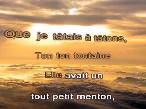 Maurice chevalier valentine karaoke