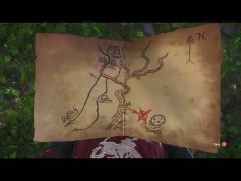 Kingdom Come Deliverance Ancient Map 1 Treasure Location