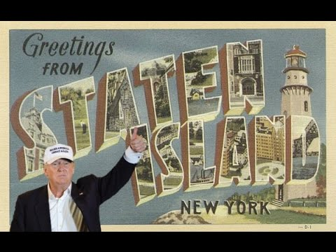 Live Stream: Donald Trump retired Police endorsement from STATEN ISLAND, NY(4-17-16)TRUMP supporters