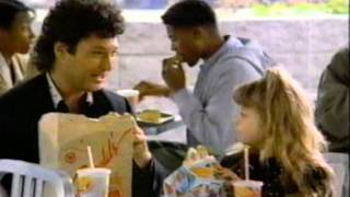 Howie Mandel & daughter for McDonald