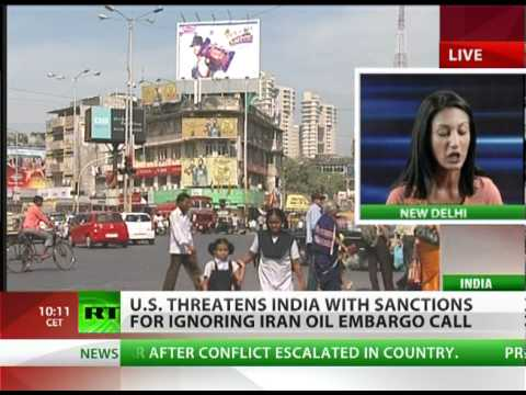 US threatens India over Iran oil
