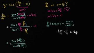 Download Video Trig functions differentiation | Derivative rules | AP Calculus AB | Khan Academy MP3 3GP MP4