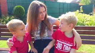 Baldi in Real Life Мама и Дети Убегают от Балди