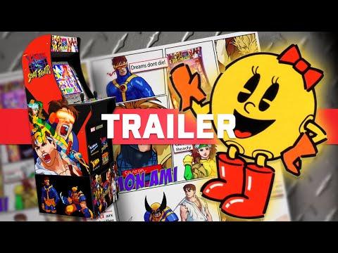 Marvel vs. Capcom, MS.PAC-MAN, X-MEN VS. Street Fighter, and Big Buck Hunter Arcade1Up Trailer