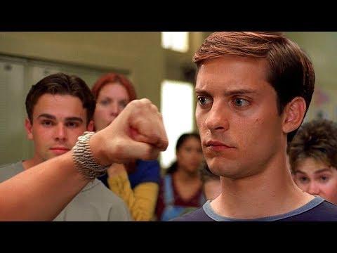 Peter Parker vs Flash - School Fight Scene - Spider-Man (2002) Movie Clip HD