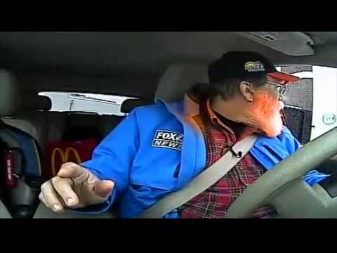 'Can I Get a Fish Sandwich?' Traffic Jam Jimmy Caught in the Drive-Thru During Traffic Report video