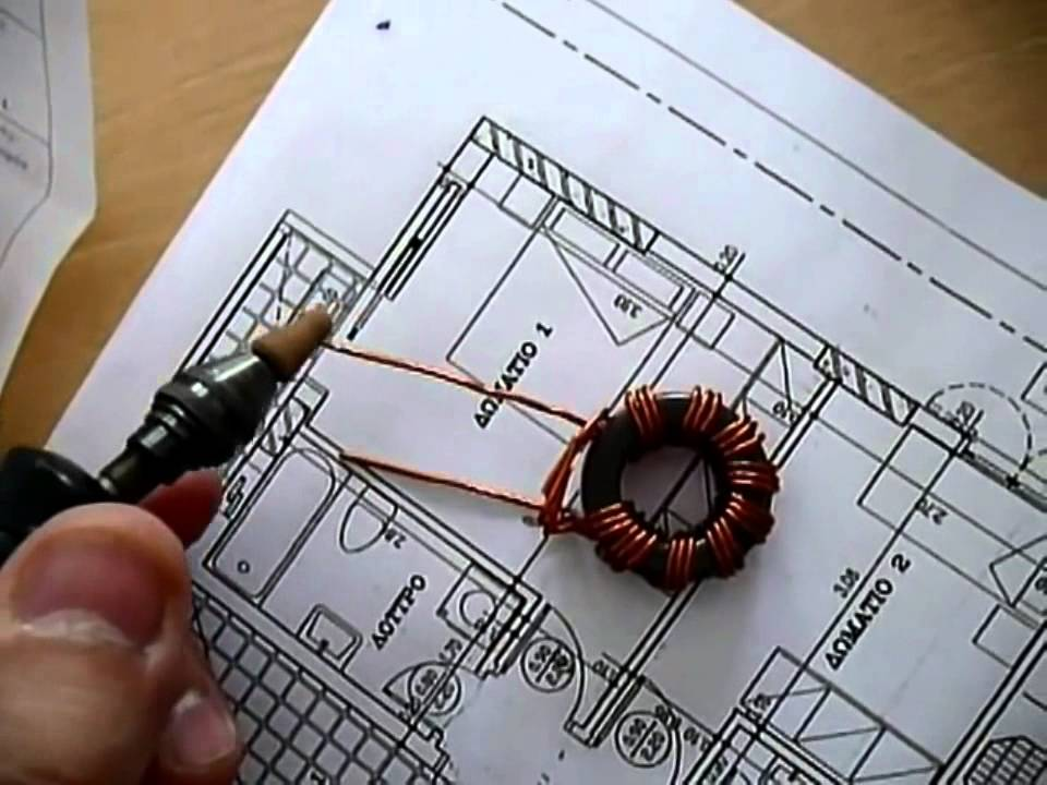 Magnetic Longwire Balun 9:1 for receiving. - YouTube