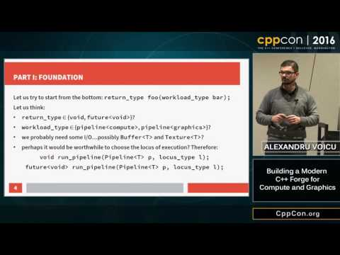 "CppCon 2016: Alexandru Voicu ""Optimally Shooting Furry Balls out of Vulkanoes"""