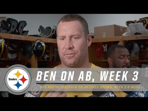 Ben Roethlisberger on Antonio Brown, Buccaneers | Pittsburgh Steelers